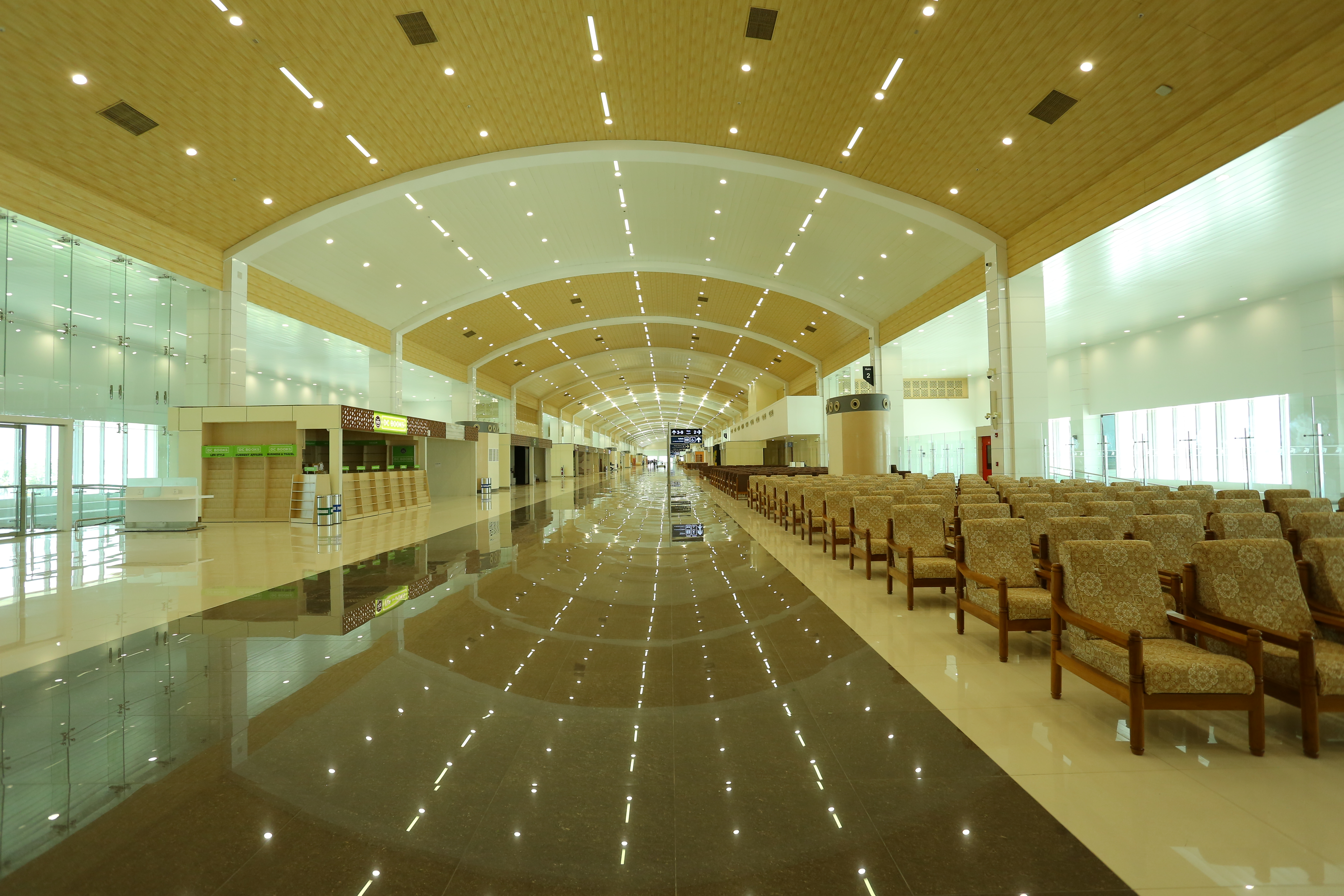 The official website of cochin international airport for International decor gates